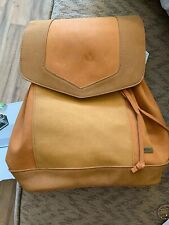 Roxy Vacation Backpack Camel New With Tags