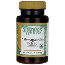 Swanson Ashwagandha Extract 450 mg 60 Caps