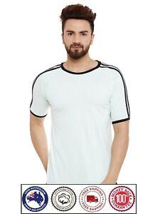 Short Sleeve Cotton T-Shirt - Black Shoulder lines Boat Neck Apple Cut