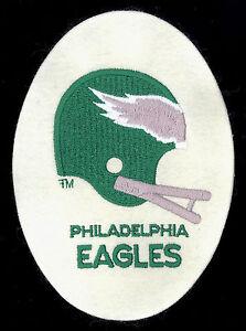1980's Philadelphia Eagles HTF Vintage NFL Felt Patch/Jacket Crest