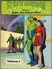 volume FLASH GORDON JOINS THE POWER MEN VOLUME FIVE NOSTALGIA