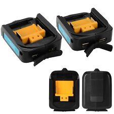 Doppio USB Caricabatterie Adattatore Per MAKITA ADP05 14-18V Li-ion Batteria