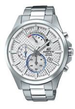 CASIO EDIFICE Watch EFV-530D-7AV Stainless Steel 100m Men's  EFV530   With  Box