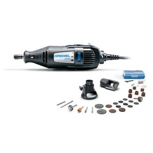 Dremel 200 Series MultiPro Rotary Tool Kit + 30 Accessories + 2 Attachment.
