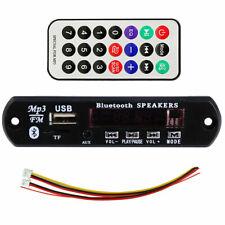 12V MP3 Music WMA FM Decoder Module Audio TF SD Card USB Radio Auto