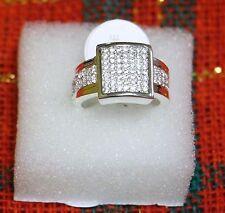 Stunning 925 Sterling Silver Zircon Ring