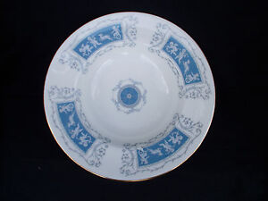 Coalport REVELRY.  Rimmed Soup Plate. Diameter 7 1/2 inches.