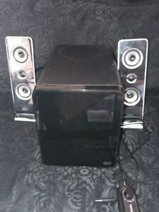 ISY 2.1 Subwoofer System Stereoanlage Musik Bass Box