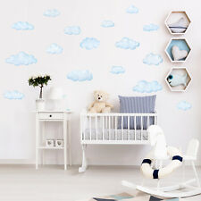 Decowall DW-1702 Clouds Wall Stickers peel & decals KIDS DECAL children