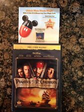 Pirates of the Caribbean: The Curse of the Black Pearl (Blu-ray/Dvd,2011,3-Disc)