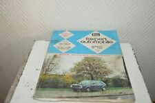 LIVRE  REVUE L EXPERT  AUTOMOBILE  VOITURE GOLF VW DIESEL 1978 PEUGEOT 305