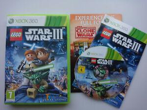 Lego Star Wars 3 Complete Saga + Lego Movie game bundle for Xbox 360 consoles