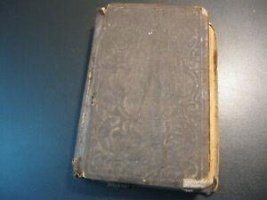 Civil War Bible 1857 New Testament NY American Bible Society. Identified