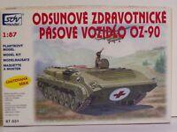 SDV Kunststoff Modellbausatz 1:87 H0 OZ-90 Sanitäts Panzer