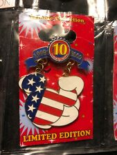 Disney Pin Tribute Collection USA Flag