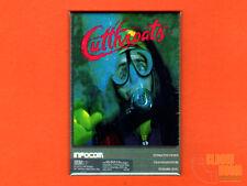 """Cutthroats box art 2x3"""" fridge/locker magnet  Infocom interactive fiction"""