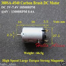 2 x 3v 3 volt 13100 rpm motore cc per modelli progetti scolastici libero 6mm Worm Gear