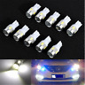 10x 12V T10 W5W 5630 6-SMD LED Car Wedge Side Light Bulb Lamp 194 192 158 White