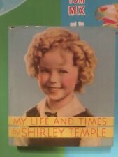 MY LIFE & TIMES SHIRLY TEMPLE  HARDCOVER Saalfield on SPINE Big Little Book 1116