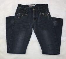 XKNH Destroyed Jeans Dark Wash Designer Skinny, Women's Size 29 (29x29) 👖