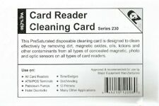 BOX OF 50 CARD READER CLEANING CARDS,,EASY, EFFECTIVE,, SAFE...LOW PRICES