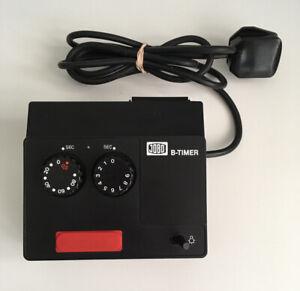 Enlarger Timer - Jobo B Timer - 0 to 99 Seconds - UK standard connection