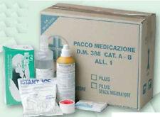 Kit medicazione reintegro pronto soccorso DM 388 DL81 cat. A B