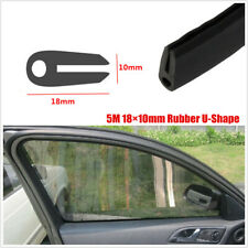 5M Rubber Seal Weather strip Protector Car Door Edge Guards Soft U-Shape 18×10mm