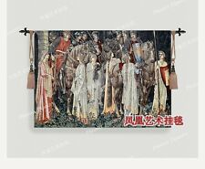 Holy grail war series Knight's journey Cotton fabric picture decoration tapestry