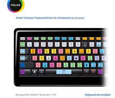 Adobe Illustrator Keyboard Stickers | All Keyboards | QWERTY UK, US