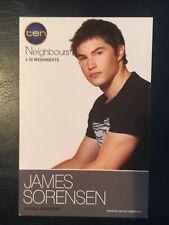 JAMES SORENSEN *Declan* NEIGHBOURS 2006 Cast Fan Card