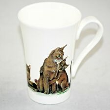 Roy Kirkham Cat Lovers Fine Bone China Coffee Tea Mug Cup Collectible 1989