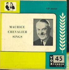 MAURICE CHEVALIER EP USA SINGS