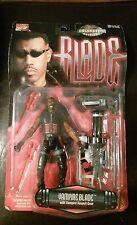 "New 1997 Marvel Comics Vampire Blade Figure 6"" W/ Vampire Assault Gear Toy Biz"