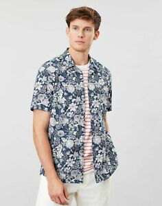 Joules men's short sleeve floral shirt, size small (S), brand new with tags BNWT