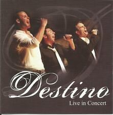 Destino Live In Concert CD Signed, Autographed Rare