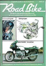 ROAD BIKE #30 BMW R100RS profile/Poor braking remedy/Watercooling/Custom paints