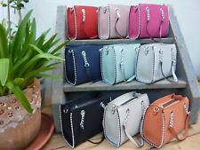 kleine Damen Handtasche Nieten Kette Schultertasche Abendtasche Clutch G88335
