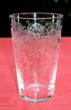 SAINT LOUIS TALMA WINE TUMBLER GLASS VERRE GOBELET CRISTAL GRAVE ROI LOUIS XVI D