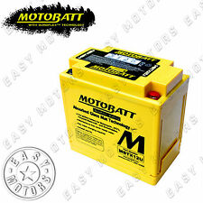 BATTERIA MOTOBATT MBTX12U TRIUMPH SPEED TRIPLE 1050 2005>2008