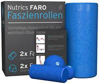 softX Faszien Rolle Ø 145 mm SchwarzFaszienrolle Massagerolle NEU+OVP