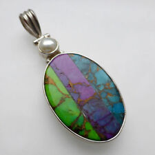Turquoise Awareness Natural Stone Fine Necklaces & Pendants