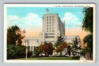 Los Angeles CA, Elks Club #99 Sesquicentennial Vintage California c1926 Postcard