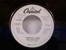 "RONNIE LAWS ""MR NICE GUY / SAME"" 45 NEAR MINT PROMO"