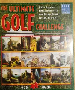 The Ultimate Golf Challenge 1000 piece Jigsaw Blue Opal Special Edition