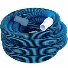 "Swimline HydroTools 1.5""x45' Premium Swivel Cuff Spiral Wound Pool Vacuum Hose"
