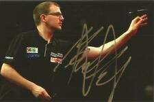 Darts: Mark Webster 'The Spider' Signed 6x4 Action Photo+Coa