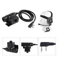 U94 PTT Military Adapter PTT Z113 For KENWOOD  BAOFENG Walkie-talkie