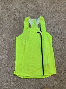 New Nike Women's Activewear Yellow Tank Tops size L
