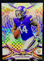 Stefon Diggs 2015 Topps Finest Xfractor Refractor #58 Rookie RC